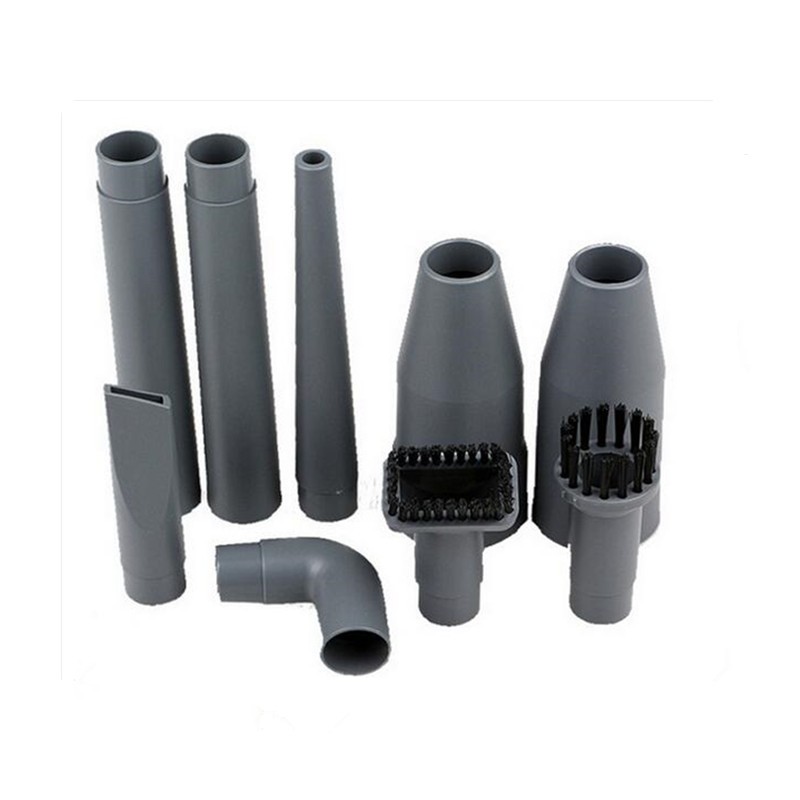 Replacement Vacuum Cleaner Brush Set 1pc Connector&1pc Extension Pipe&Suction Nozzle Head&1pc Bend Angle&2pc Square Round Etc