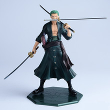 Anime One Piece 23cm P.O.P POP Roronoa Zoro After 2 Years PVC Figure Toy PVC Action Figure Collection Model Toy Christmas Gift