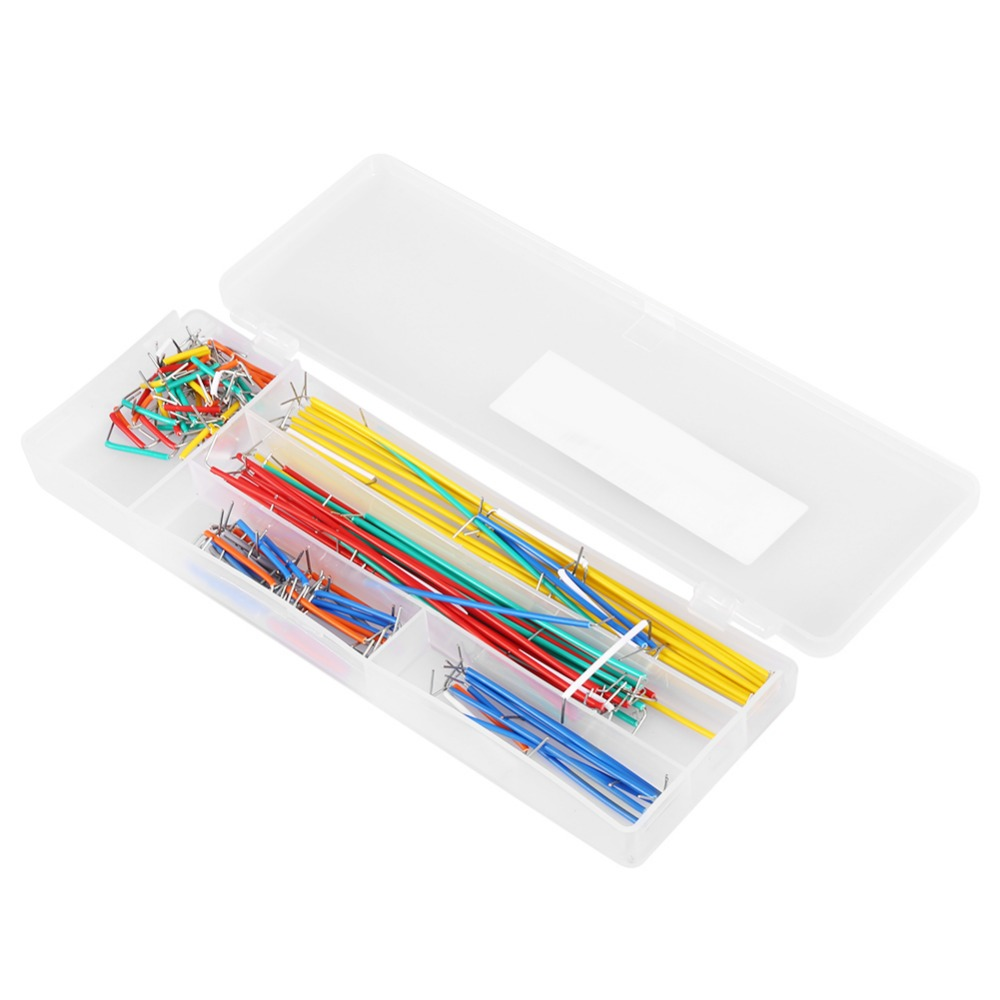 140 Pcs Breadboard Jumper Wire Kit 14 Lengths Assorted Jumper Wires With Storage Box