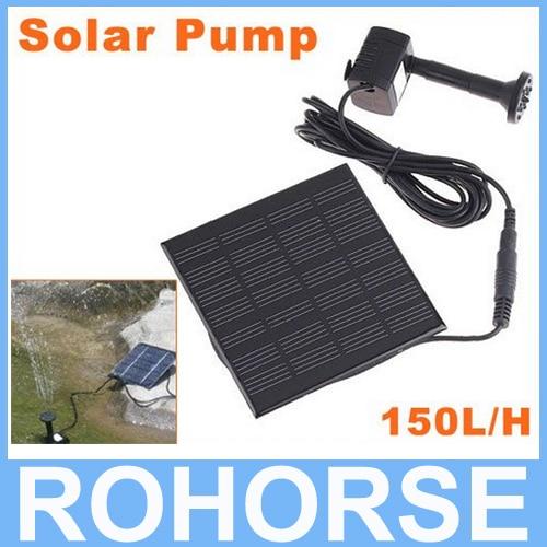 Acuario Sumergible Bomba Solar Para El Ciclo del Agua/fuente de la Charca/fuente de Rocalla Jardín Bombas De Aire de Refrigeración
