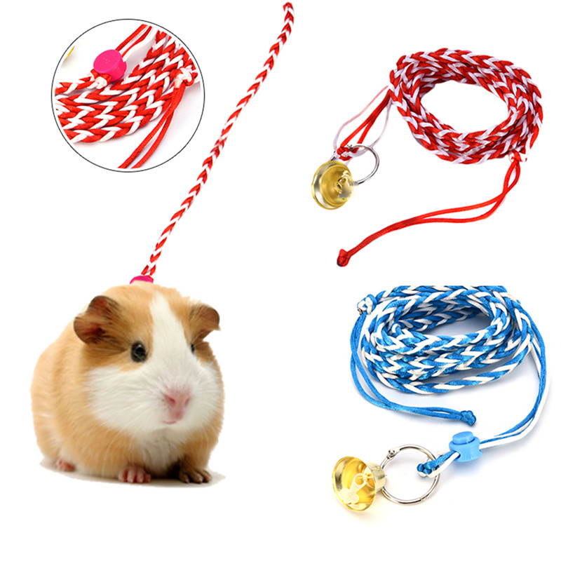 Comfortable adjustable leash collar guinea pig small pets rope comfortable adjustable leash collar guinea pig small pets rope hamster traction rope with bell on aliexpress alibaba group publicscrutiny Image collections