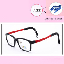 Высокое качество, детские очки TR90, оправа, очки для мальчиков и девочек, квадратные оптические оправы, очки для близорукости, для студентов, 3011-38