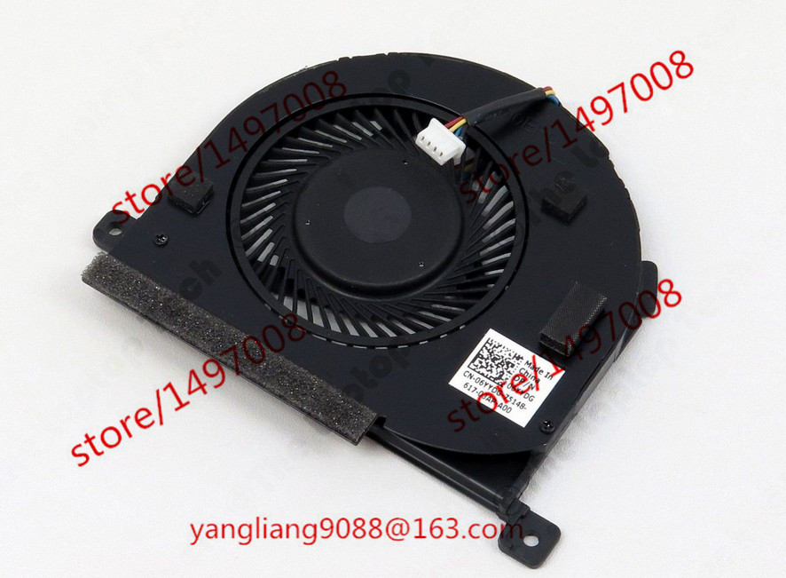 купить  Free Shipping For DELTA 06YYDG DC 5V 0.50A 4-wire 4-pin connector 40mm Server Laptop Cooling fan  онлайн
