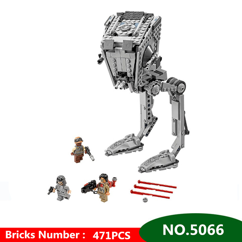 471pcs Diy Star Wars The Rogue One AT Set ST Walker Building Blocks Compatible With Legoingly Brick Toys For Children kids gift [jkela]499pcs new star wars at dp building blocks toys gift rebels animated tv series compatible with legoingly starwars page 1