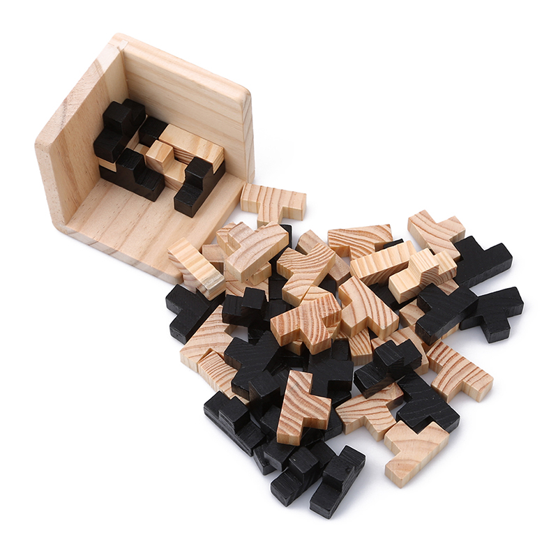 Toys & Hobbies Puzzles Able New Educational Wood Puzzles For Adults Kids Brain Teaser 3d Russia Ming Luban Educational Kid Toy Children Gift Baby Kids Toy