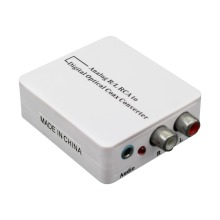 Wiistar Analog to Digital Audio Converter L/R SPDIF Coaxial RCA Adapter
