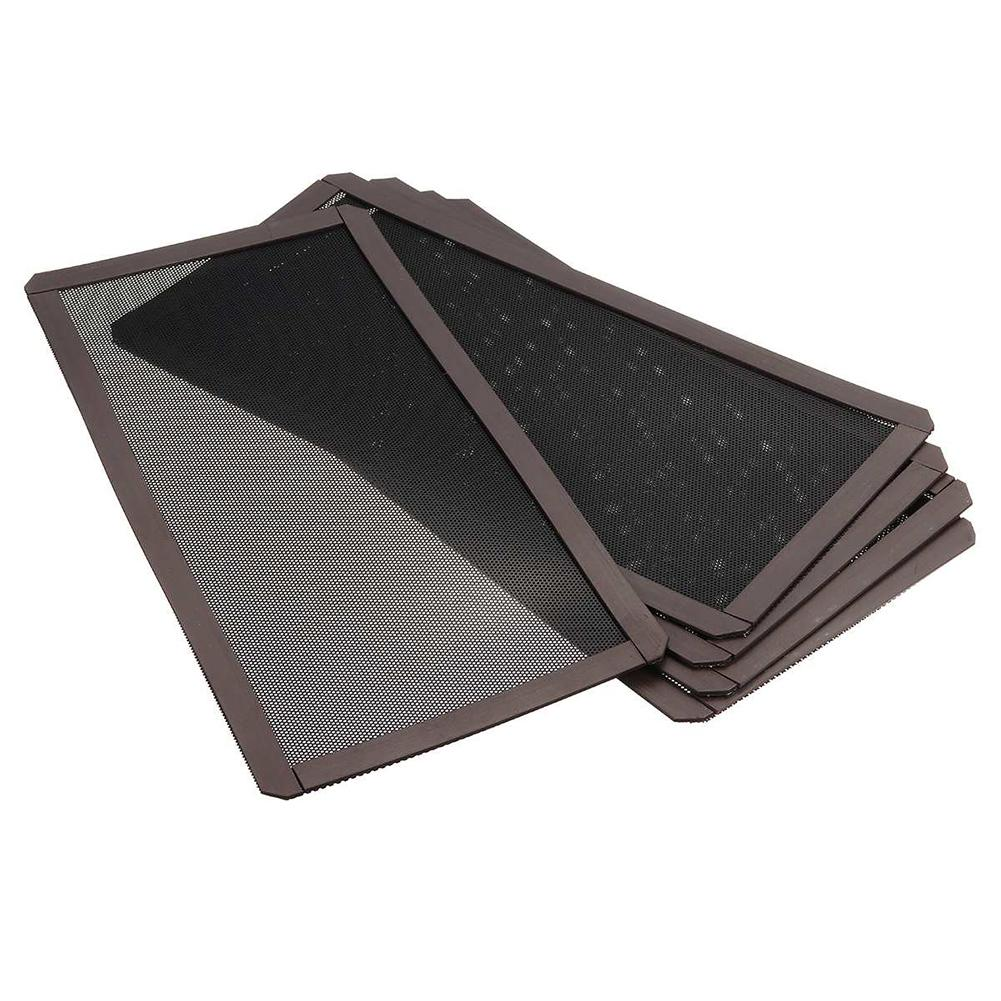 2019 New 12x24cm PC Case Cooling Fan Magnetic Dust Filter Cover Dustproof Mesh Net Cover Computer Guard