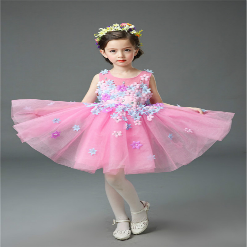 Christmas International Children's Day Costumes Girls Dresses for Princess New Year Birthday Dress Snow Queen Kids Clothes te0192 garner 2005 international year of physics einstein 5 new stamps 0405