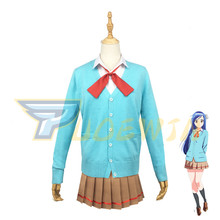 Bokutachi wa Benkyou ga Dekinai We Never Learn BOKUBEN Cosplay Furuhashi Fumino Costume Custom Made
