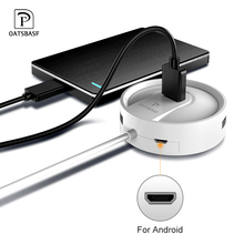 цена на Oatsbasf  USB 2.0/Type-C HUB to USB 2.0 for Macbook Pro HUB Adapter usb port for xiaomi Huawei mate 20 P30 Hard Drive Accessory