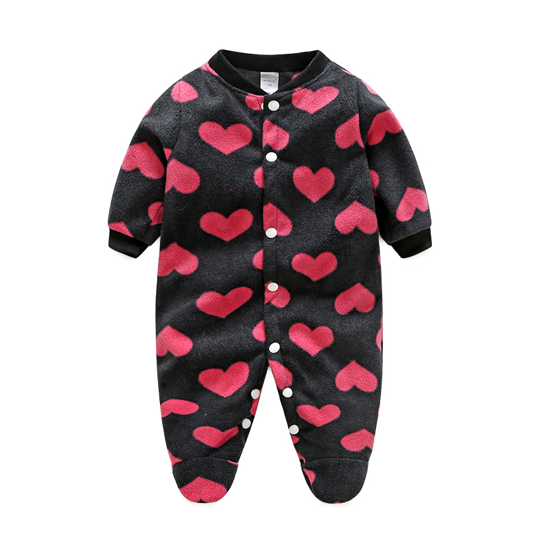 Brands Baby Clothes Costumes Fleece For Newborn Baby Clothes Boy Girl Romper Baby Clothing Overalls Jumpsuit Winter Clothes baby clothes baby rompers winter christmas costumes for boys girl zipper rabbit ear newborn overalls jumpsuit children outerwear