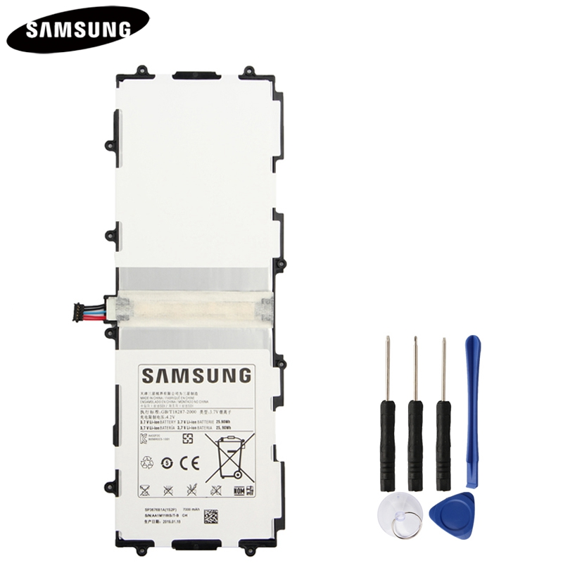 Original Battery SP3676B1A For Samsung Galaxy Note 10.1 GT-N8000 N8005 GT-N8010 N8013 N8020 P7500 GT-P7510 P5100 P5113 7000mAh