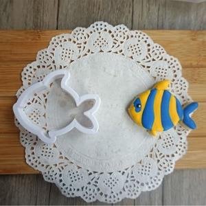 Форма для печенья в форме морских существ, Кит, дельфин, осьминог, краб, черепаха, помадка, инструменты для торта, бисквитные формы, 8 шт./компл.