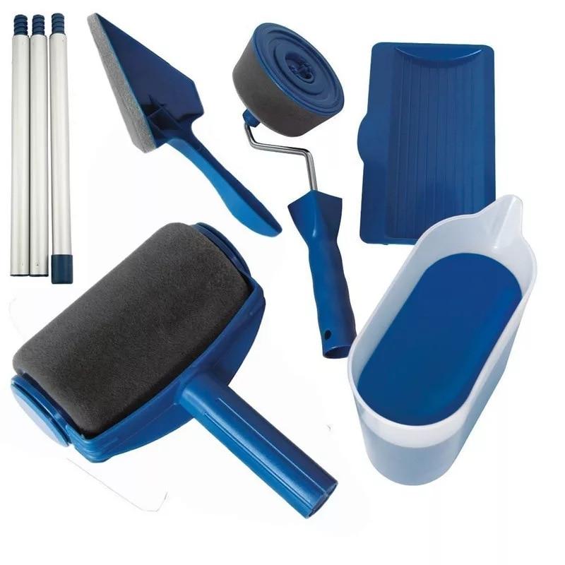 5/8pcs Wall Painting Roller Brushes Tools Set Multifunctional Wall Paint Roller Brush Kit Dropshipping Fornecedores Para Brasil