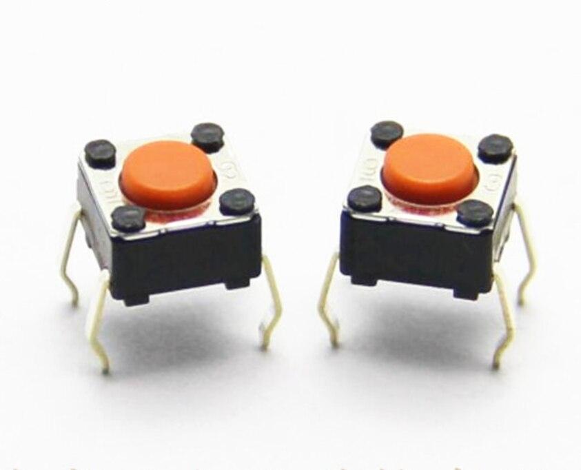 Бесплатная Доставка 100 шт./лот новый оригинальный OMRON B3F серии сенсорный выключатель света B3F-1005 переключатель 6*6*4,3 мм DIP 4 контакта 2.55N