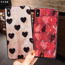 Gold foil Love case For Huawei P20 Lite P10 Plus Back cover Mate 10 20 Pro Nova 2S 3 3i 3e phone cases