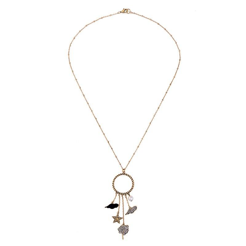 Korea Style Simple Design Girls Jewelry Clouds Pendant Hollow ...