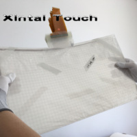 Xintai Touch Real 4 points 23.6 inch interactive touch foil, for touch kiosk, table etc