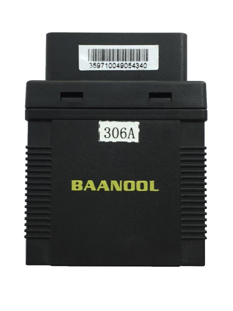 5 pc GPS véhicule tracker OBD II Coban Original BAANOOL BN306A ACC alarme SOS, avec boîte