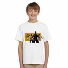 LYTLM Kids T-shirt Girls 2018 Summer Game Tops Bobo Choses Baby Boys Cartoon Kids Character Printed Girls T-shirts Cotton