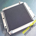 56 MM liga de alumínio do radiador para Jeep Wrangler YJ/TJ/LJ M/T RHD 1987-2006