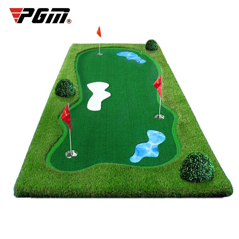 2020 Quality Indoor PGM Putter Trainer Outdoor Sports Training Green 1cmx3cm Trainer Engineering Greens Exercise Blanket Kit Mat