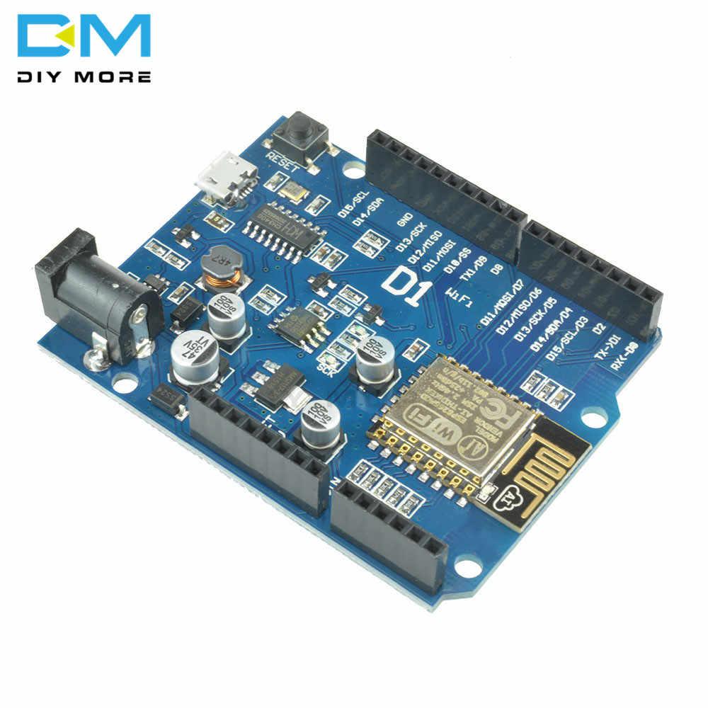 ESP8266 ESP-12E VOOR WeMos D1 CH340 WiFi Draadloze OTA Development Board IDE UNO R3 Voor ARDUINO Compatibel Drive Module EEN 1A 24V
