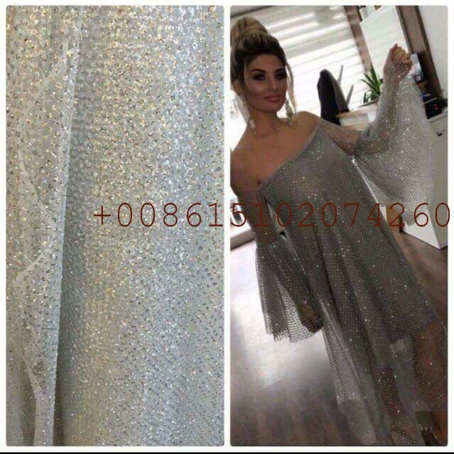 African French Lace Fabric High Quality Tulle For Wedding Dress Sewing
