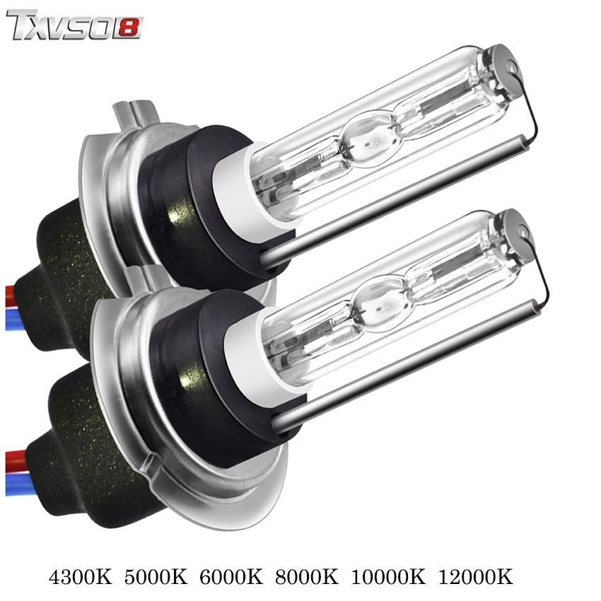TXVSO8 5 paires kit Xenon H7 HID ampoule voiture phare bombilla 4300 K 5000 K 6000 K 8000 K 12 V 55 W Auto lampada voiture antibrouillard ampoules