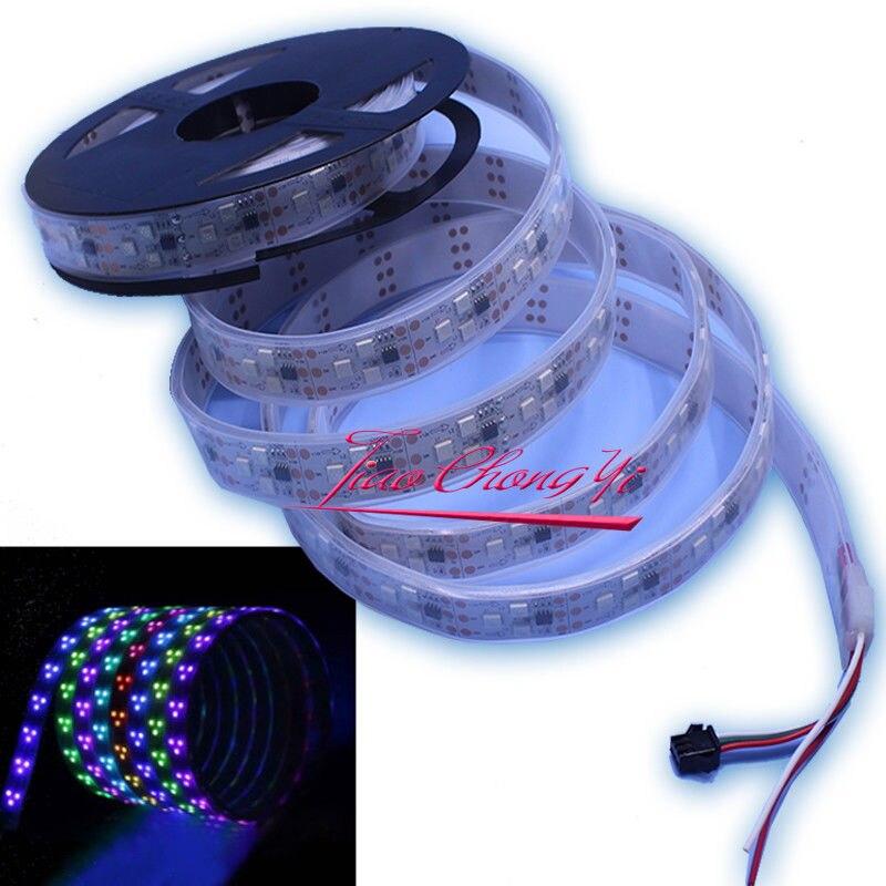 5 M 90 LED/M 450 LED WS2811 IC 5050 pixel LED rvb Bande Adressable Individuelle 12 V