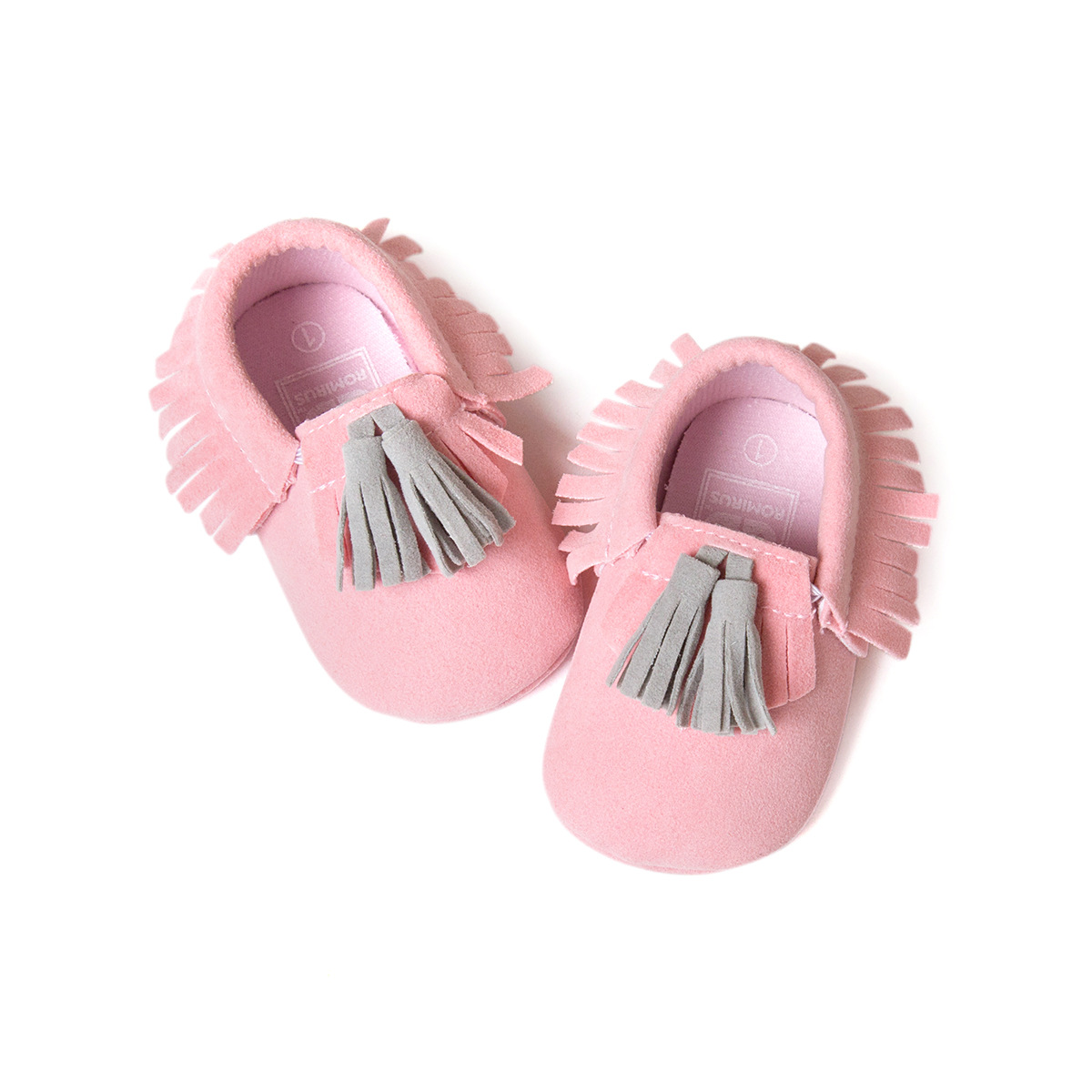 Baby First Walkers Baby girl boy Shoes Soft Bottom Fashion Tassels bebes Moccasin Non-slip PU Leather Prewalkers chaussures