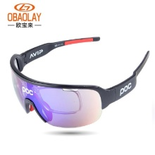08048f52c339e Unisex 5 Lens Polarized Cycling Glasses Ultraviolet-proof Sunglasses Men  Women oculos gafas ciclismo Sports