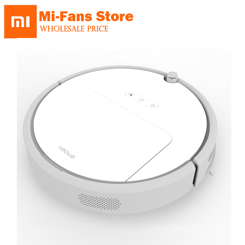 New Xiaomi 3 Xiaowa Vacuum Cleaner MIHome Smart Plan Type Robotic with Wifi App Control and Auto Charge for Home Sweeping Dust 2017 new gift with uv lamp remote control lcd display automatic vacuum cleaner iclebo arte and smart camera baby pet monitor