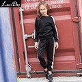 LouisDog Teenage Girls Tracksuit Set Kids Sport Suits for Autumn Winter 14 13 12 Years Girls Clothes Children's Clothing Sets