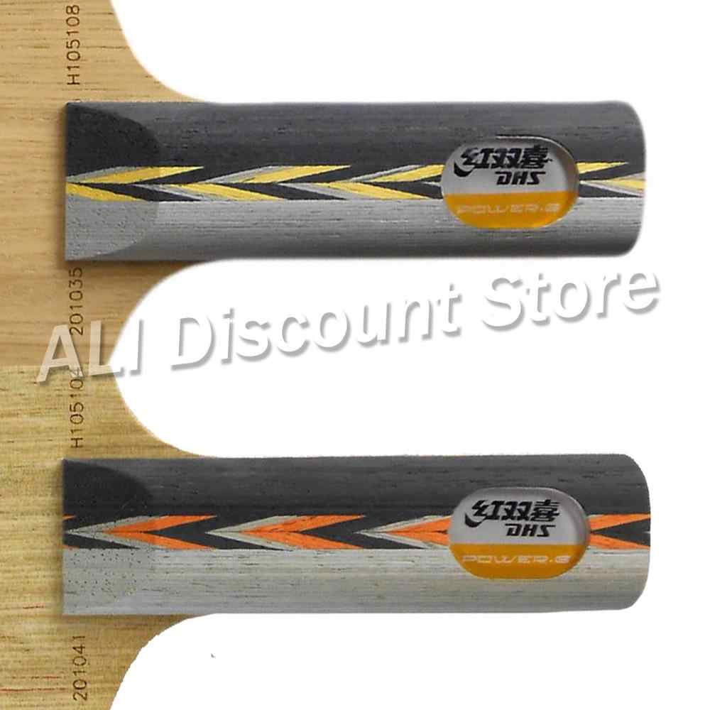 Pro Table Tennis (PingPong) Combo Racket: DHS POWER.G7  PG.7 PG7 with 2x 729 SUPER FX-729 (GuoYuehua) Rubbers FL