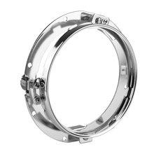 Монтажный кронштейн кольцо Крепление кронштейны 7 дюймов круглый фара мотоцикл Off Road для Jeep Wrangler JK Hummer