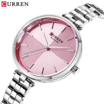 CURREN Women Watches Top Brand Luxury Stainless Steel Strap Watch Ladies Analog Quartz Wristwatch Simple Style Clock reloj mujer - DISCOUNT ITEM  47% OFF All Category