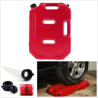 Red Car Fuel Container Motorcycle Gas Diesel Oil Petrol Spare Accessories Tank