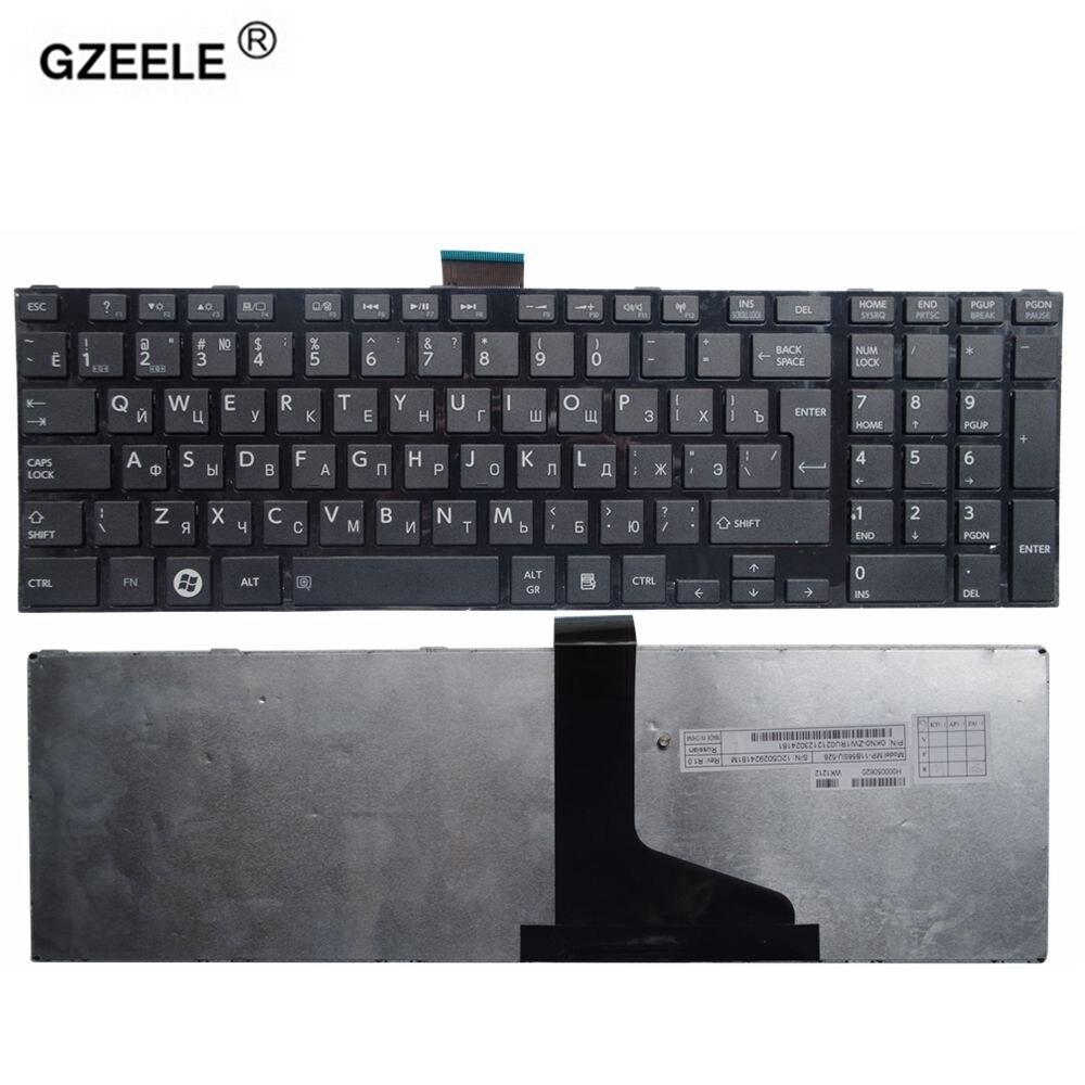 GZEELE russische Neue tastatur für TOSHIBA SATELLITE L850 L850-C6S L850D L855 L855-10U L855D P850 L870 L870D tastatur laptop RU