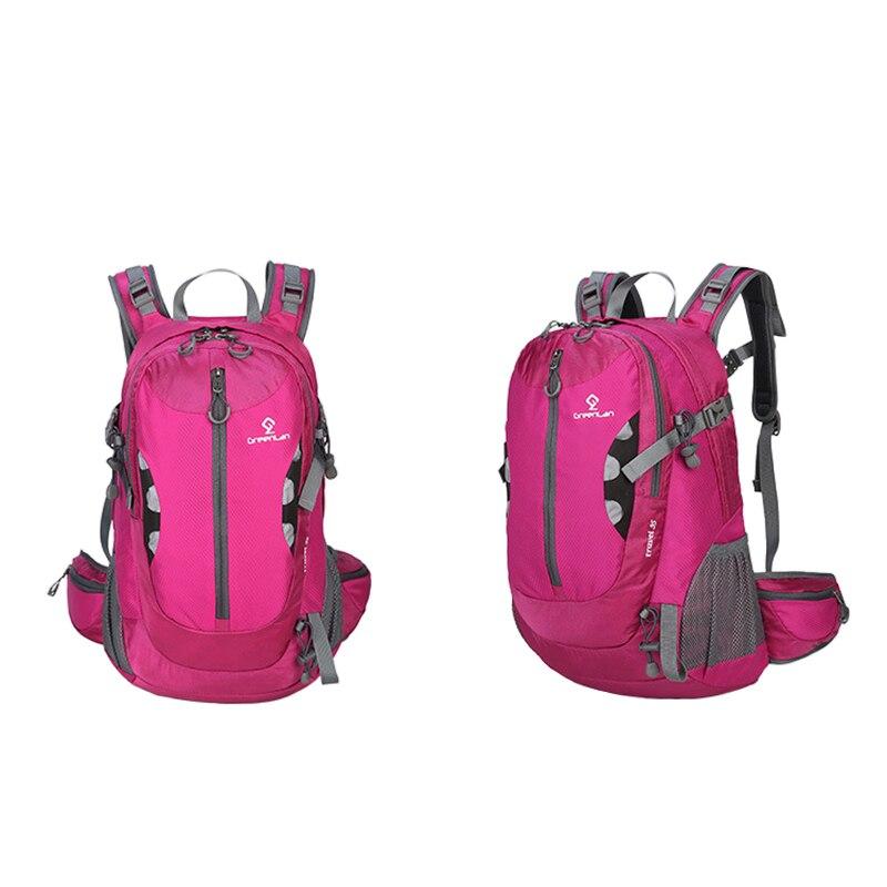 35L Мужская и женская нейлоновая Водонепроницаемая спортивная сумка для отдыха на природе, походный рюкзак