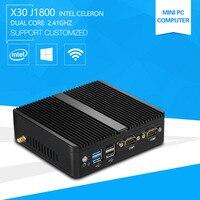 2015 Factory Newest Mini Computer X 29 J1800 Dual Lan Thin Client 4g Ram 8g Ssd