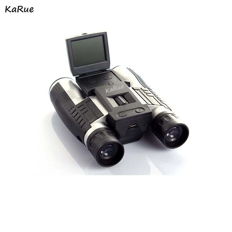 karue Professional 12x32 HD Binocular Telescope 5MP digital camera 2.0