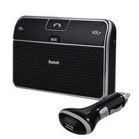 רכב אוניברסלי טלפון Bluetooth 4.0 רמקול Bluetooth לרכב רמקול דיבורית Bluetooth מקלט מתאם 3.5 מ
