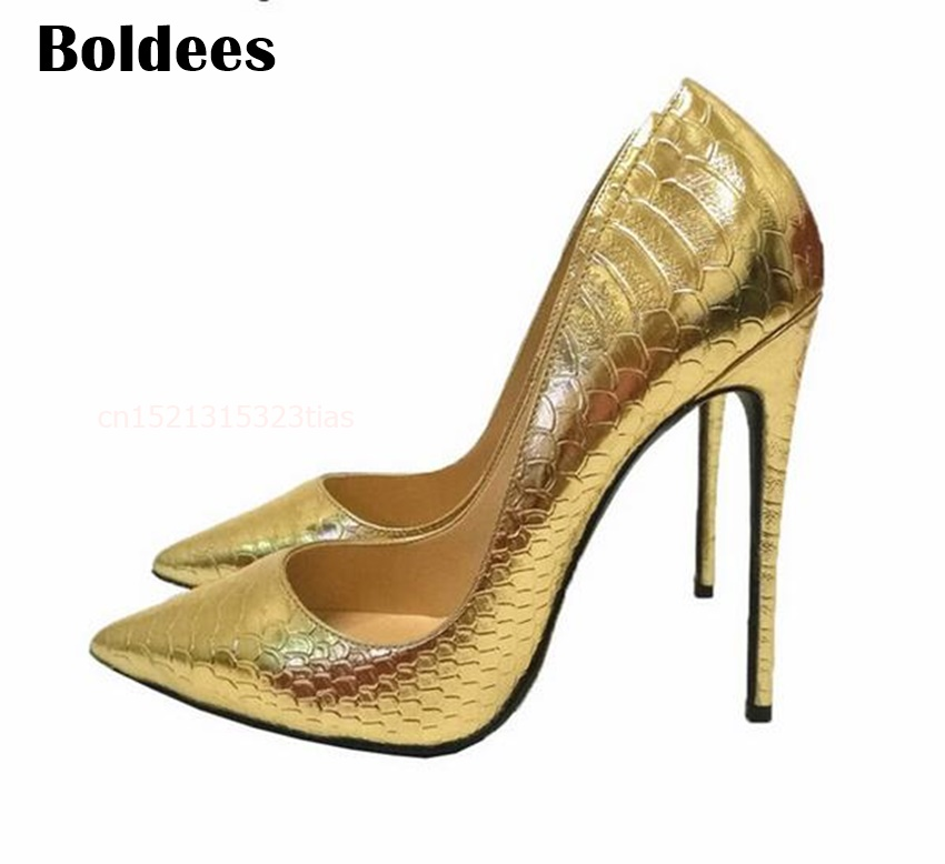 2018 party gold wedding high heel shoes women pointed toe sexy high heels pumps large small size 2018 brand fashion women pumps hin high heel pumps shoes for women sexy pointed toe 12cm high heels party wedding shoes woman