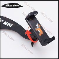 Car Auto Mobile Phone Holder For Mini Cooper R55 R56 R60 R61 Car Styling Clubman Countryman