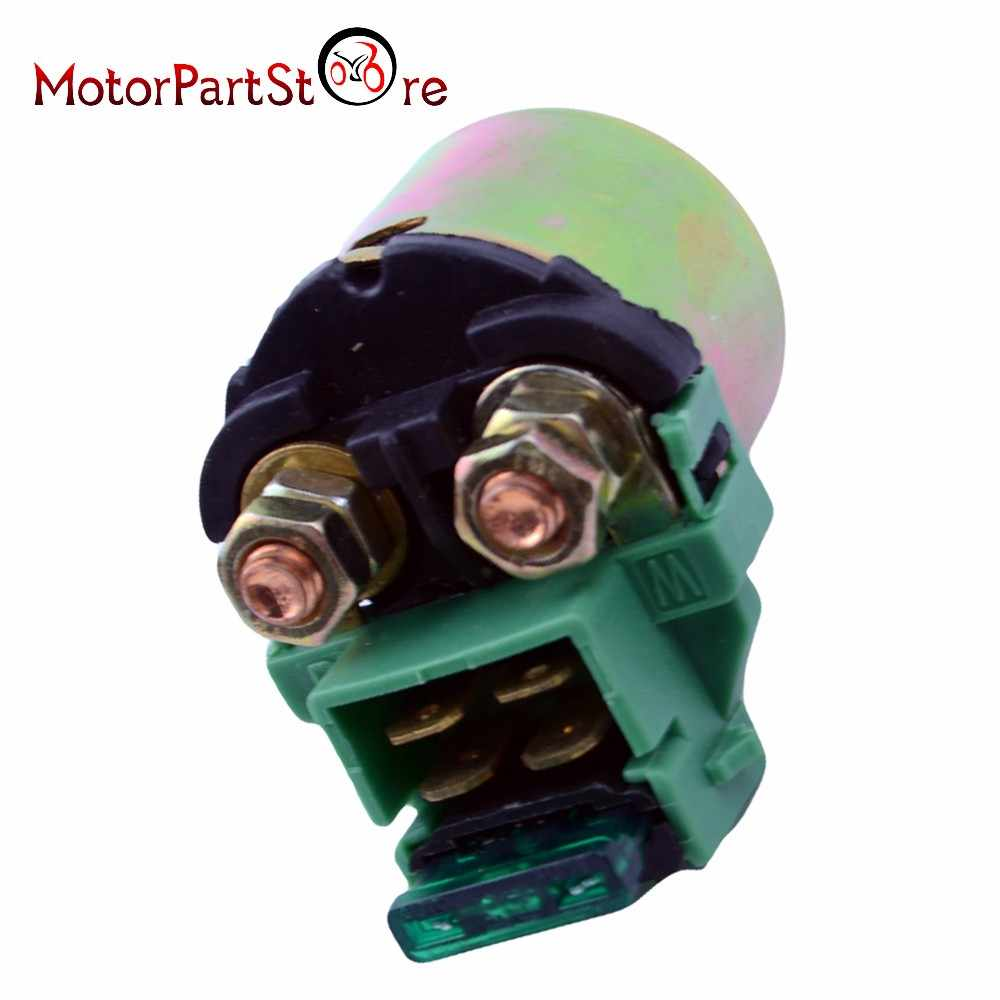 New 12V Motorcycle Bike Starter Solenoid Relay for HONDA VT600 SHADOW 1988-2007 35851-MF5-751 35850-MK3-671 35850-MB0-007