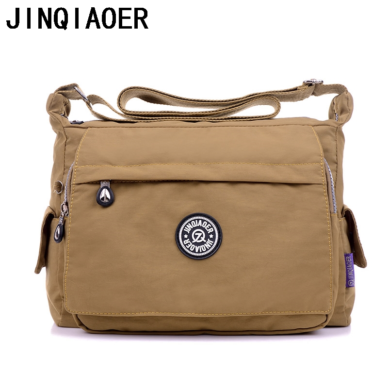 Women Messenger Bags Female Shoulder Bag High Quality Crossbody Bags For Ladies Handbags Nylon Bolsos Sac A Main Purse jinqiaoer women messenger bag high quality ladies handbags shoulder bag for women nylon crossbody bags female bolsas sac a main