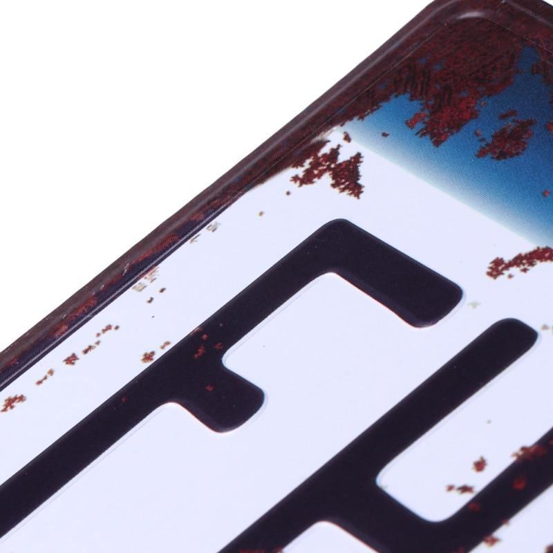 Vintage Metal Tin Signs 3