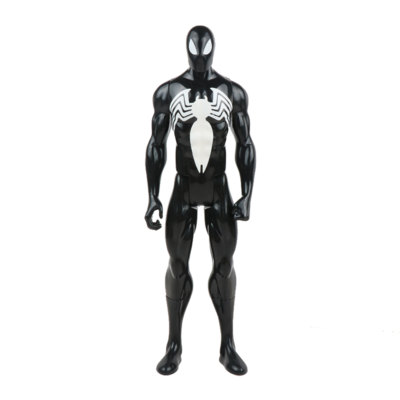 30 см Marvel Мстители игрушки танос Халк Бастер человек паук Железный человек Капитан Америка Тор Росомаха Черная пантера фигурка куклы - Цвет: 2spiderman no box