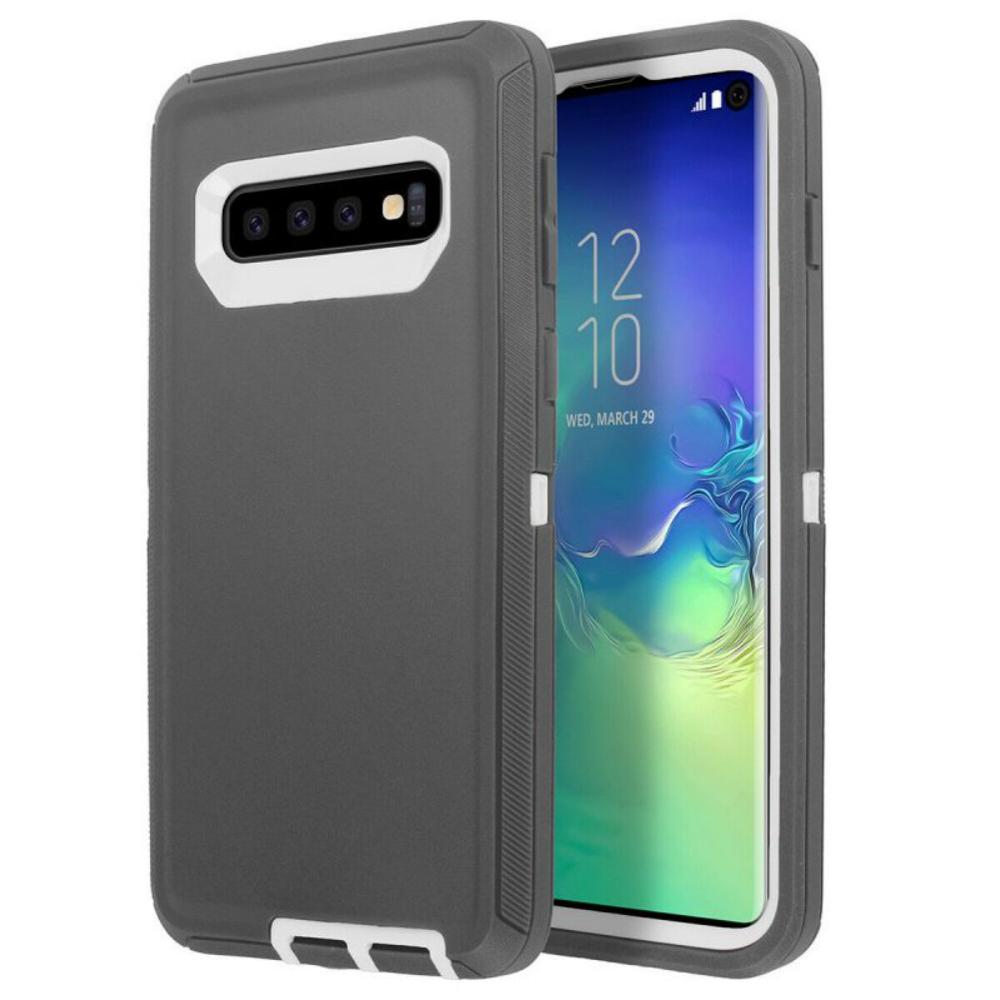 Durable Defender Armor Phone Case For Samsung Galaxy S10/S10 Plus/S10E Shockproof Protective Cover For Galaxy S10 Plus S10E Case